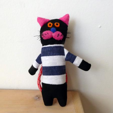 くにはらゆきこ 黒猫チャーム